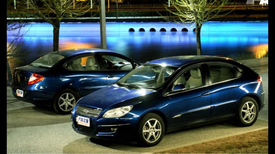 Chery Cielo é o nome do modelo A3 no Brasil