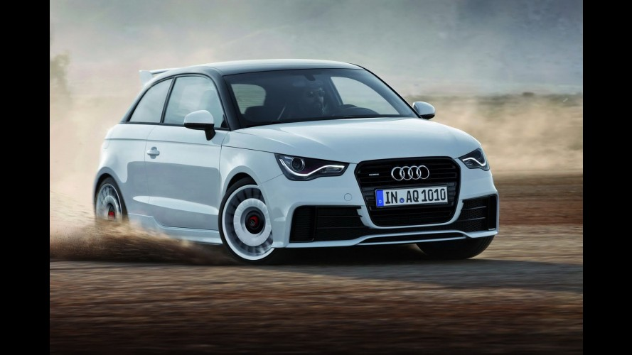 Audi revela oficialmente A1 Quattro - Modelo traz tração integral e motor com 256 cv de potência