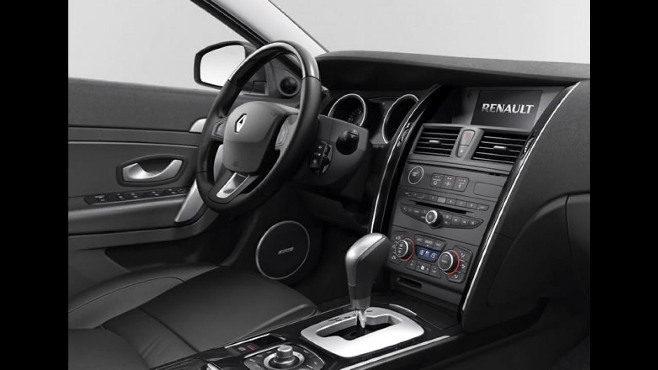 Renault Latitude chega ao mercado argentino