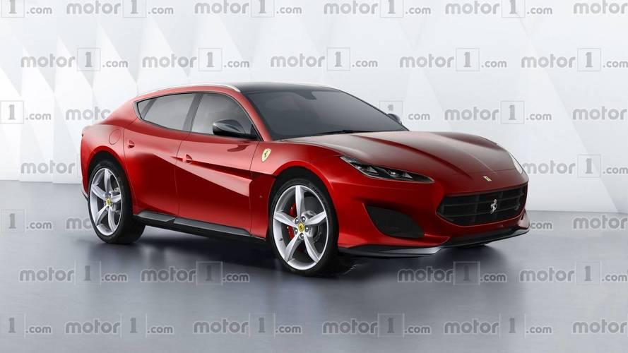 Ferrari SUV 2021: cuatro renders que anticipan su diseño