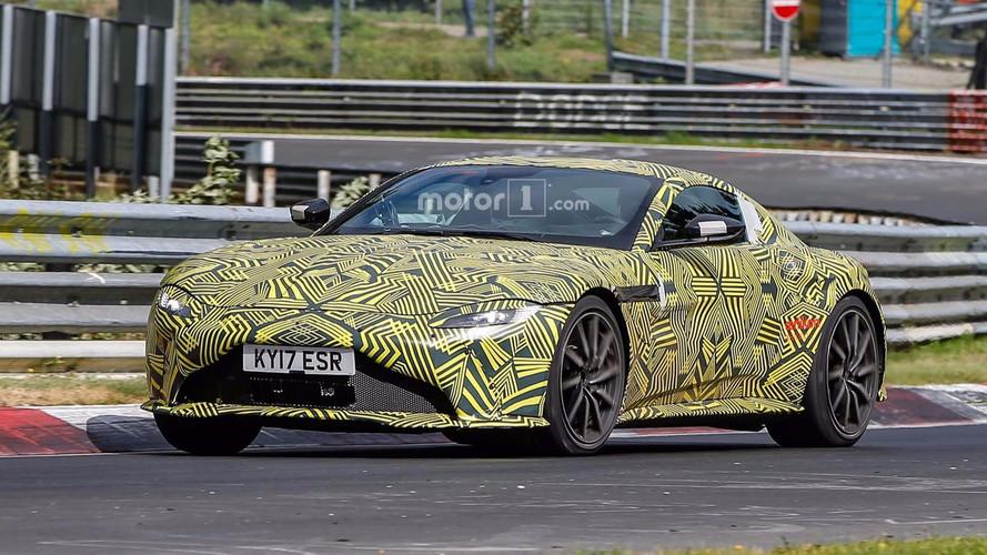 2019 Aston Martin V8 Vantage Nürburgring'de görüntülendi
