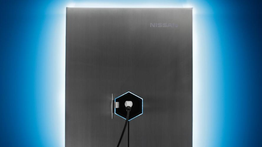 Nissan home charging system
