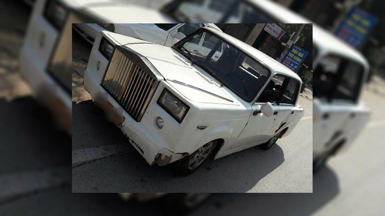 Fake Rolls-Royce Phantom