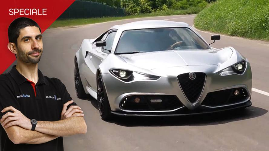 """Alfa Romeo 4C Mole, ecco come va la sportiva """"architettonica"""