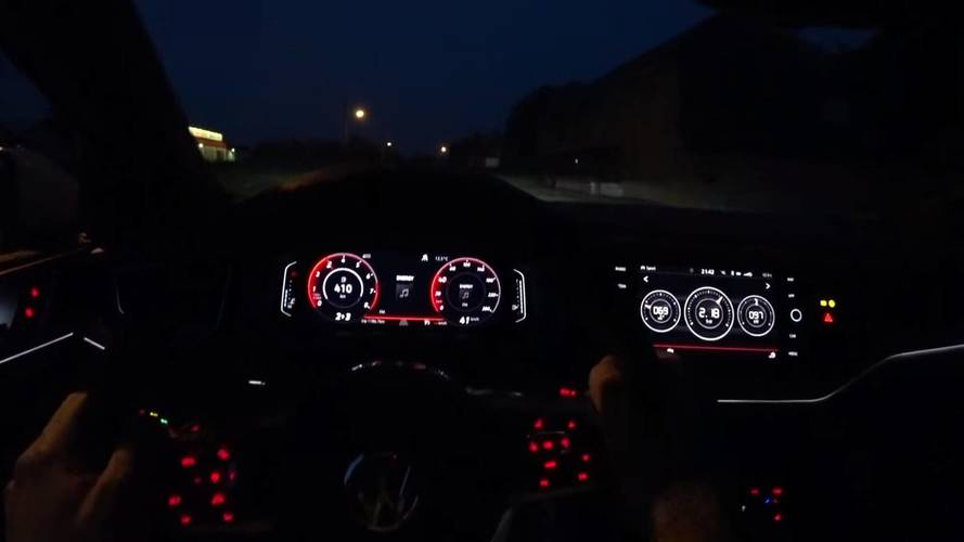 This Is What It's Like To Drive The New VW Polo GTI At Night
