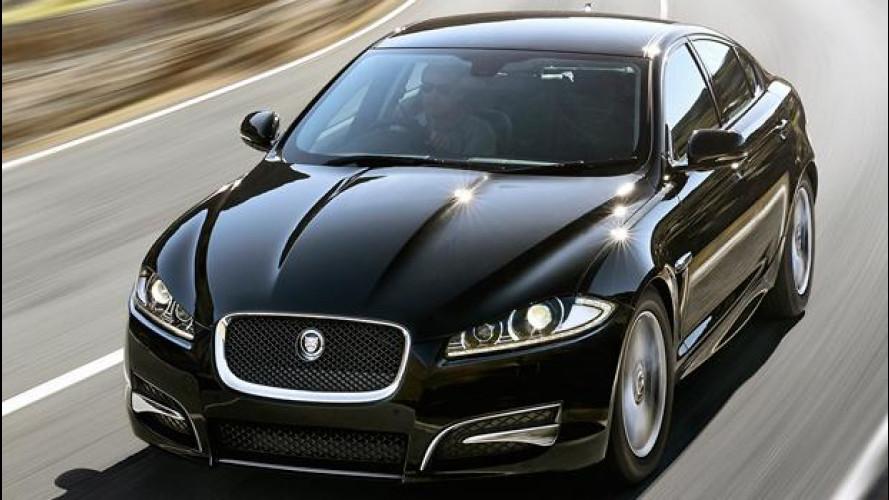 Jaguar XF R-Sport, l'entry level che seduce