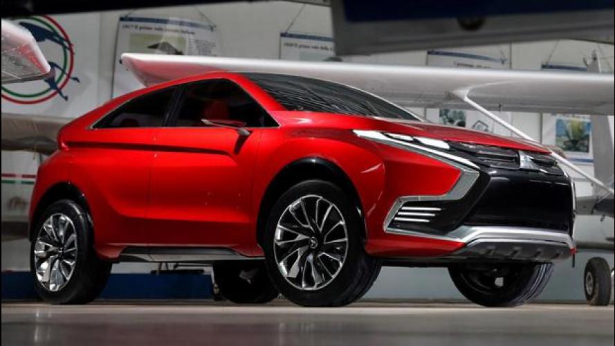 Salone di Ginevra, Mitsubishi presenta l'XR-PHEV II concept