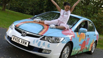 Honda Civic Hybrid and Paige Lewis