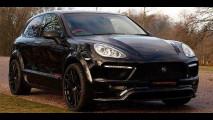 Porsche Cayenne Coupe secondo Merdad