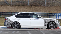 2016 BMW 3-series facelift plug-in hybrid spy photo