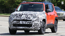 Mysterious Jeep Renegade prototype