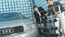 Acoustic test rig at Audi