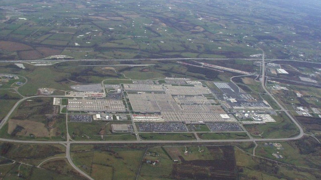 Toyota Georgetown plant in Kentucky