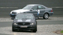 SPY PHOTOS: Mercedes C-Class Old and New