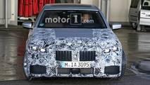 BMW Série 7 restylée en photos espion