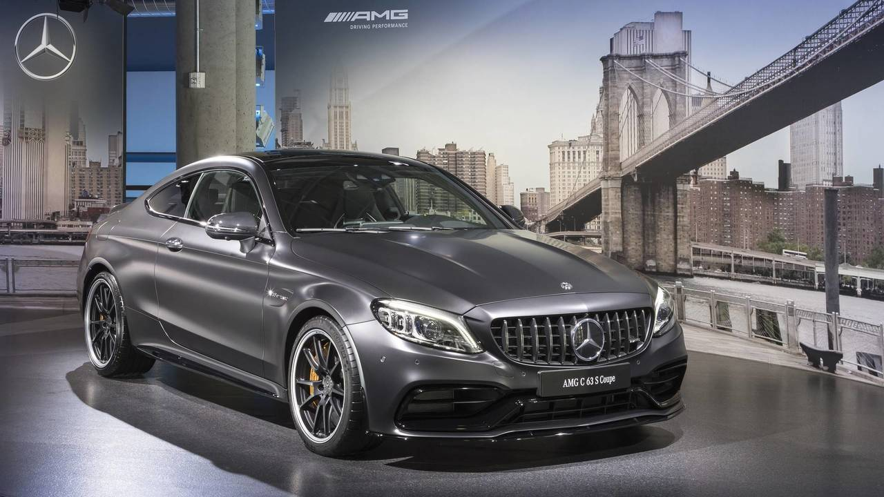 Mercedes Amg C63 Lineup Brings New Grille More Gears To