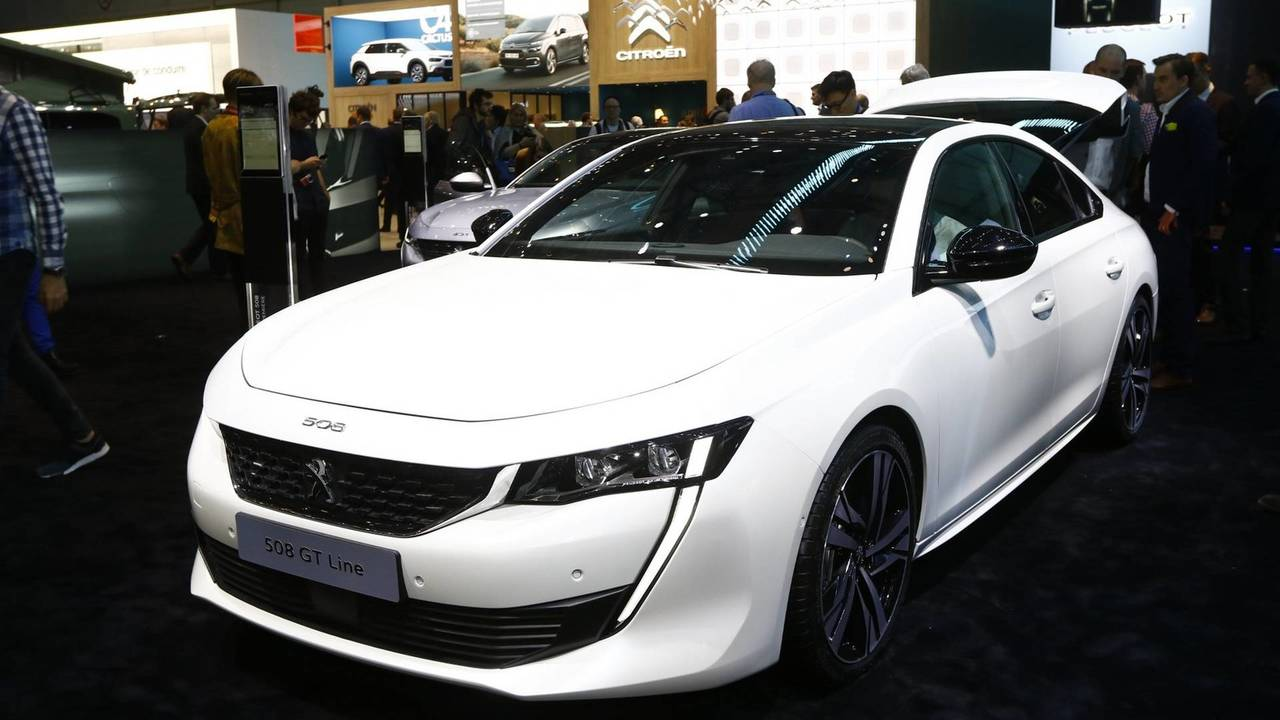 New peugeot 508 first edition has all the bells and whistles for Photo peugeot 508