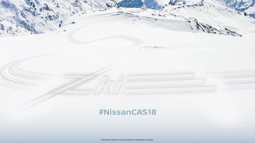Nissan, kış odaklı konsepti 370Zki'nin teaser'ını yayınladı