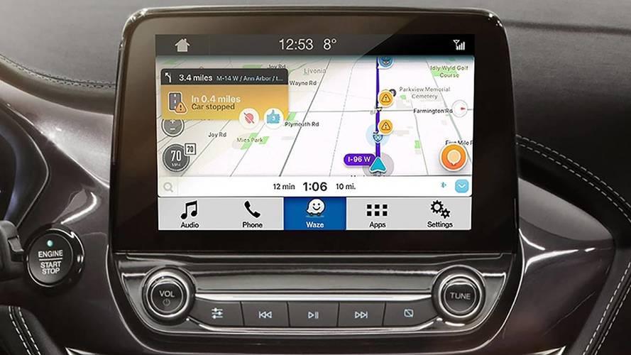 Ford anuncia integração do Waze com o Sync3 para Android e iOS