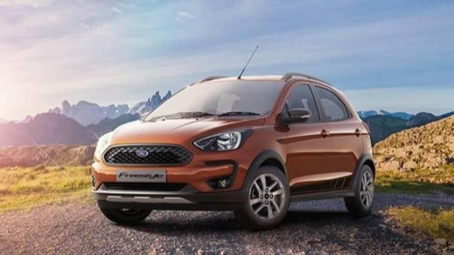 Revelado - Ford Freestyle é a versão aventureira do novo Ka 2019