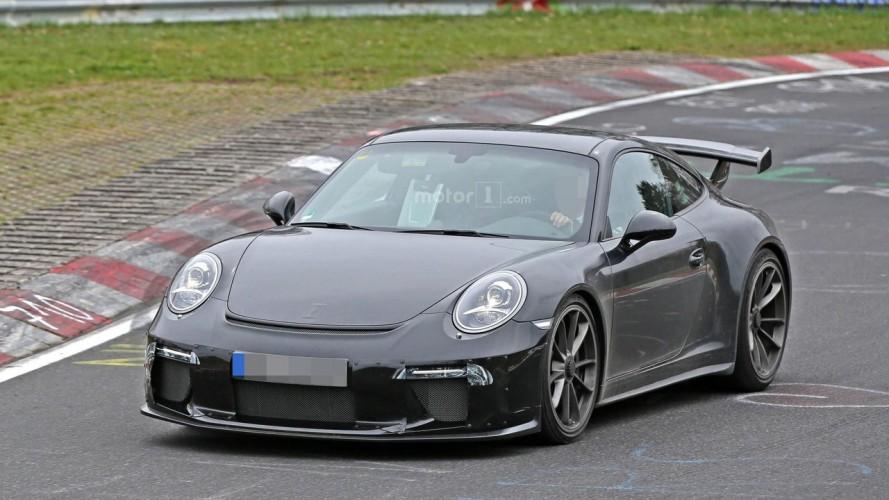 Yeni Porsche 911 GT3 Nürburgring'de görüldü