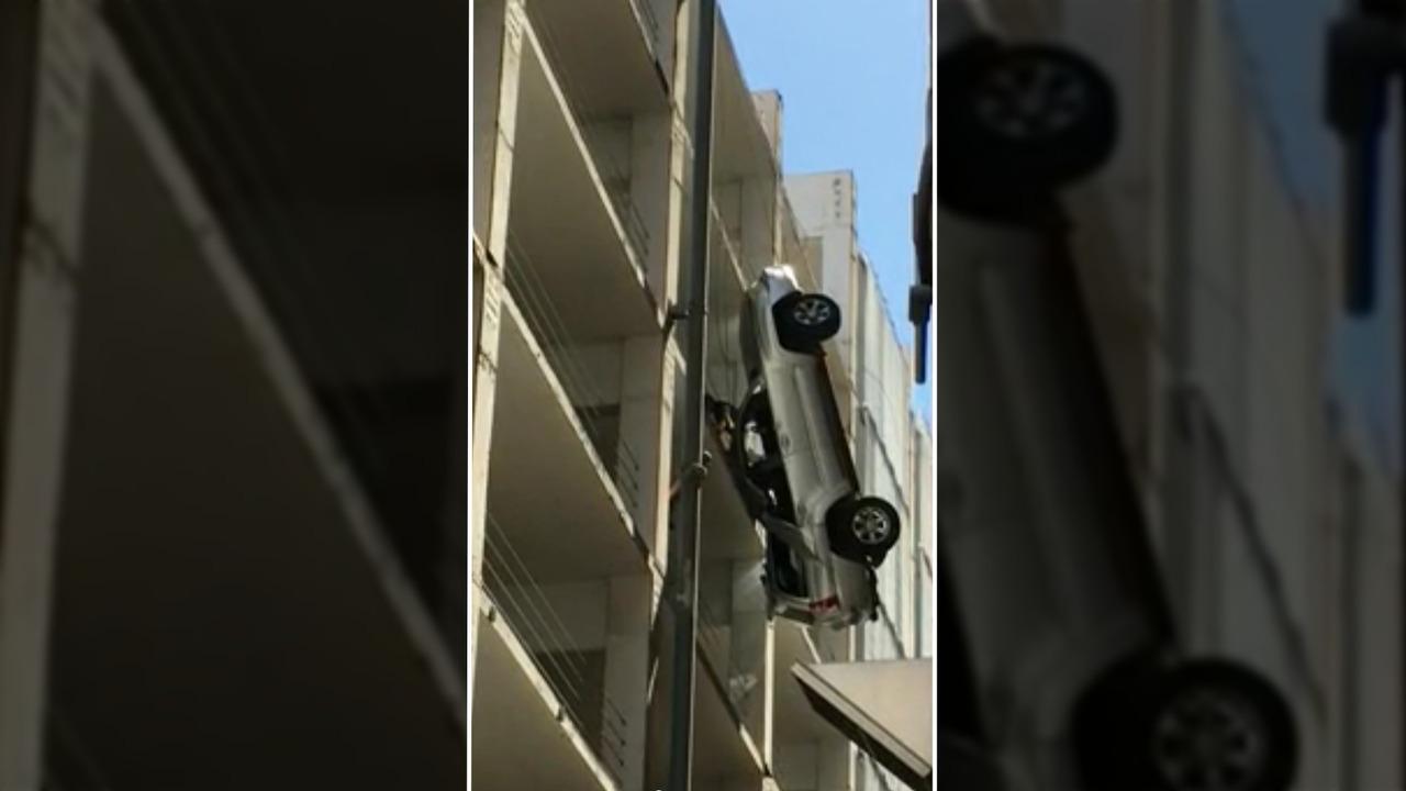 Hanging Toyota 4Runner