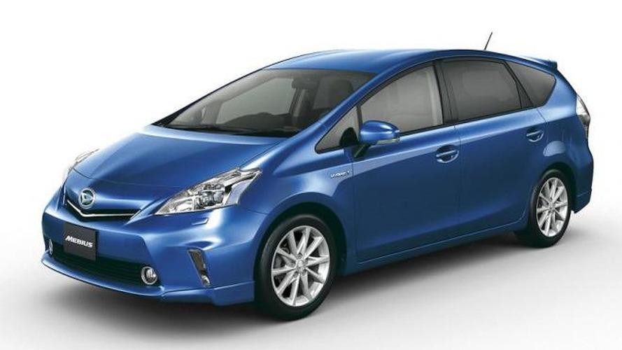 Daihatsu Mebius is a Toyota Prius V for JDM