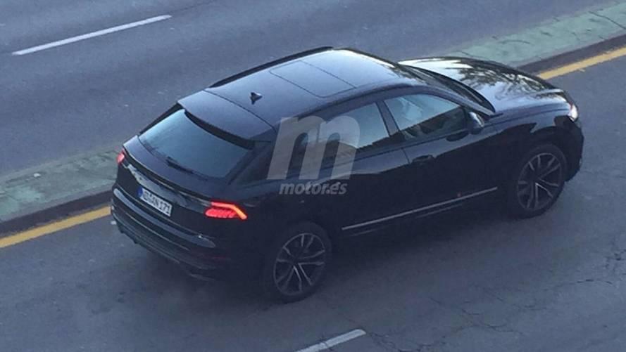 Audi Q8 Photos espion