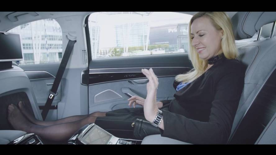 Audi Invites Strangers Into The A8 For A Foot Massage