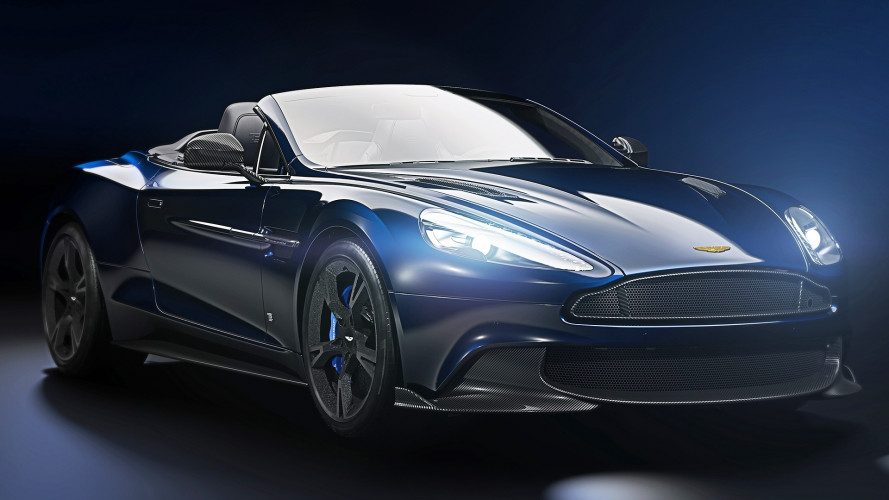 Aston Martin Vanquish S Volante, un'edizione speciale firmata Tom Brady