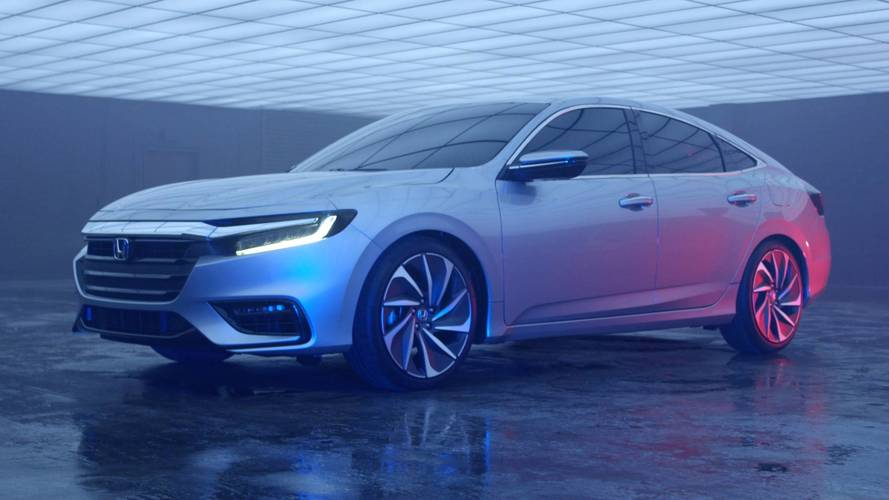 Honda Teases 2019 Insight Ahead Of Detroit Auto Show Debut