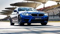 BMW M5 2018 en el Circuito Internacional de Shanghai