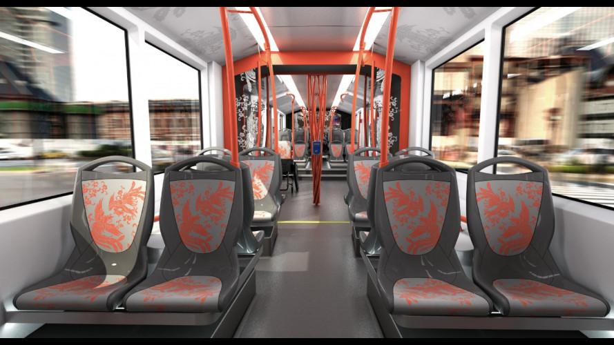 Italdesign progetta un nuovo tram per la Cina
