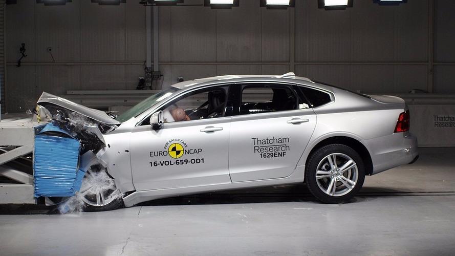 Crash-test - Les Volvo V90 et S90 s'en tirent avec les honneurs
