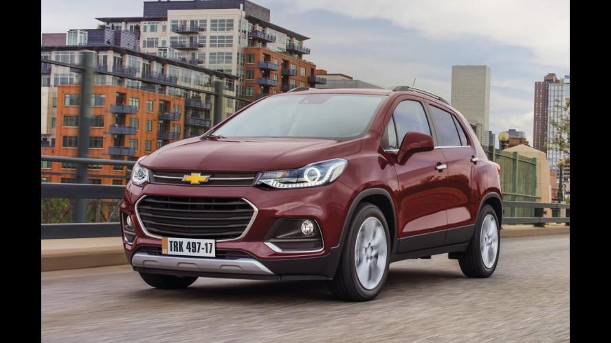 Chevrolet mostra novo Tracker 2017 para o Brasil e confirma motor 1.4 turbo