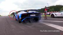 Lamborghini Aventador SV cameraman