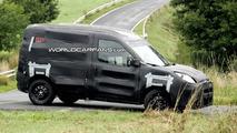 New Fiat Doblo spy photo