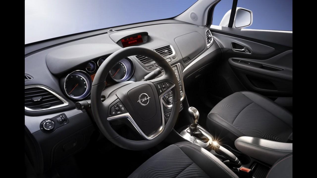 Opel fecha 1o trimestre em alta graças ao SUV compacto Mokka
