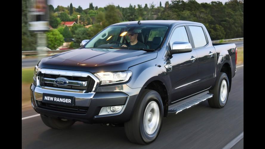 No Brasil em 2016, nova Ford Ranger tem produção ampliada na Tailândia