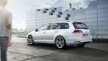 VW Golf Variant facelift with R-Line package