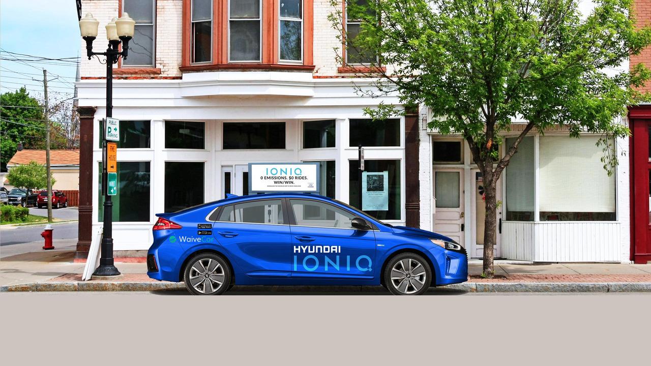 Hyundai Ioniq EV Waivecar