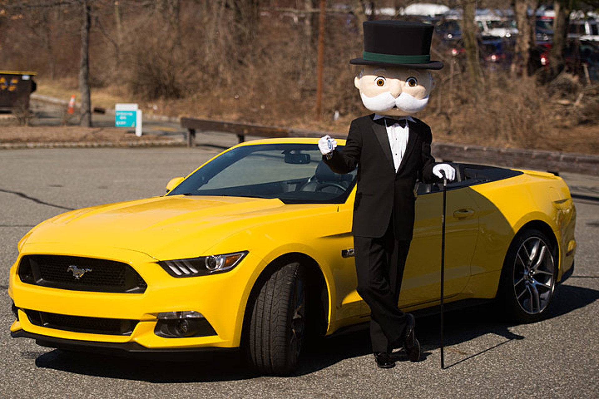 The 2016 Ford Mustang is Officially a Monopoly Piece