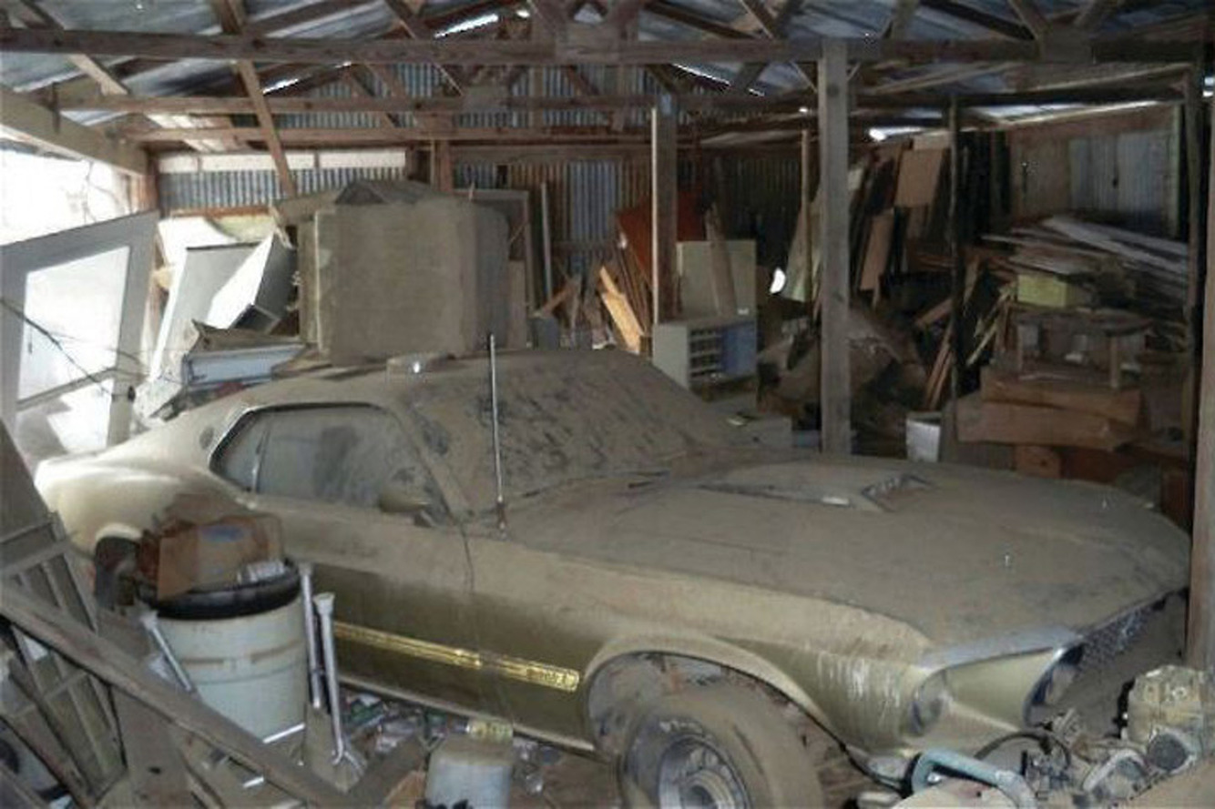Barn Find: A '69 Mach 1 Saved from the Junk Pile