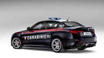 Alfa Romeo Giulia Quadrifoglio for the Carabinieri