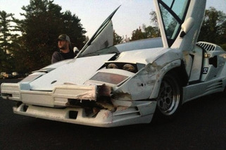 'The Wolf of Wall Street' Directors Wrecked a Real Lamborghini Countach for Film