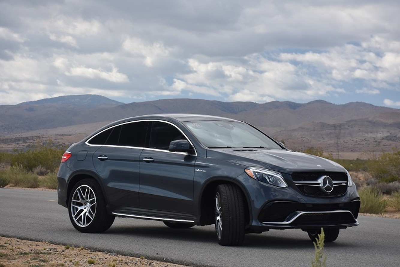 The mercedes benz gle 63 amg s coupe defies physics first for Mercedes benz gle 63 amg