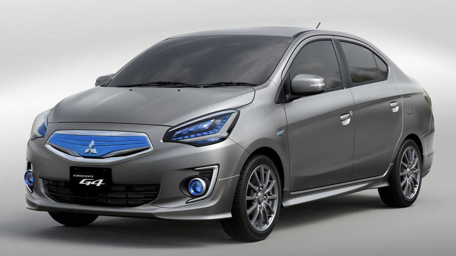 Mitsubishi entry-level sedan coming in 2015 - report