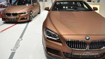 AC Schnitzer BMW 640d Gran Coupe and 3-Series Touring live in Geneva
