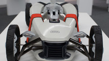 Audi Suit concept from students Cherica Haye and Nir Siegel from the Royal College of Art in London 26.11.2012