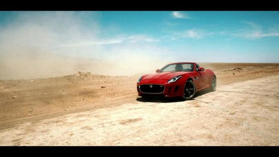 Jaguar F-Type stars in Desire [video]